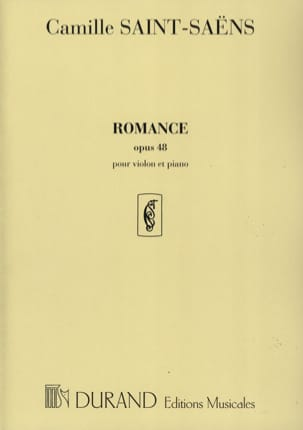 Camille Saint-Saëns - Romance op. 48 - Sheet Music - di-arezzo.co.uk