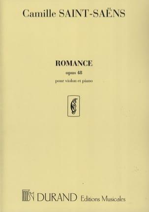 Camille Saint-Saëns - Romance op. 48 - Partition - di-arezzo.fr