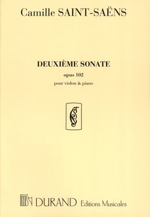 Camille Saint-Saëns - Sonata No. 2 op. 102 - Sheet Music - di-arezzo.co.uk