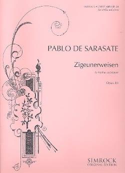Zigeunerweisen op. 20 - SARASATE - Partition - laflutedepan.com