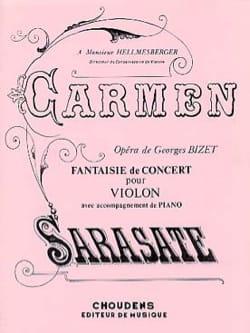 Pablo de Sarasate - Concierto de lujo Carmen op. 25 - Partitura - di-arezzo.es