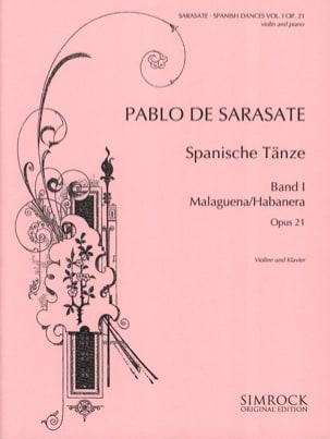Pablo de Sarasate - Spanish Dances Opus 21 Volume 1 - Partition - di-arezzo.co.uk