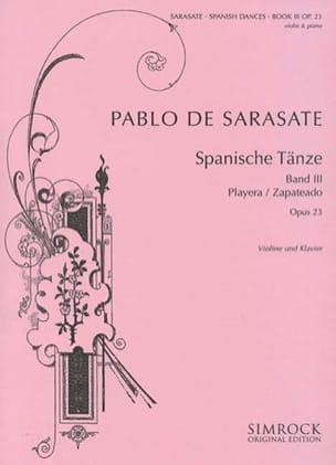 Pablo de Sarasate - Danses Espagnoles Op. 23 Volume 3 - Partition - di-arezzo.fr