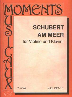 Am Meer - Franz Schubert - Partition - Violon - laflutedepan.com