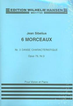 Jean Sibelius - Danse Characteristique op. 79 n° 3 - Partition - di-arezzo.fr