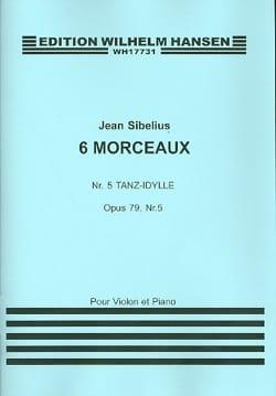 Danse Idylle op. 79 n° 5 - Jean Sibelius - laflutedepan.com
