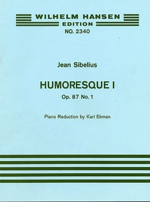 Jean Sibelius - Humoresque 1, op. 87 n ° 1 - Partition - di-arezzo.co.uk