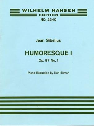 Humoresque 1, op. 87 n° 1 SIBELIUS Partition Violon - laflutedepan