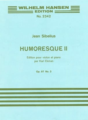 Jean Sibelius - Humoresque 2, op. 87 n ° 2 - Partition - di-arezzo.co.uk
