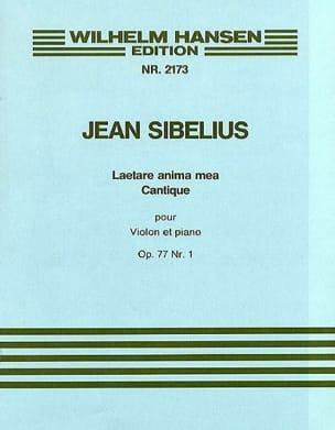 Jean Sibelius - Laetare anima mea - Cantique op. 77 n° 1 - Partition - di-arezzo.fr