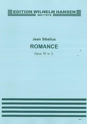 Jean Sibelius - Romance op. 78 n° 2 - Partition - di-arezzo.fr