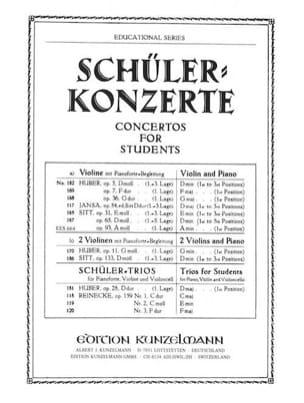 Hans Sitt - Concertino op. 93 A-moll - Partition - di-arezzo.fr