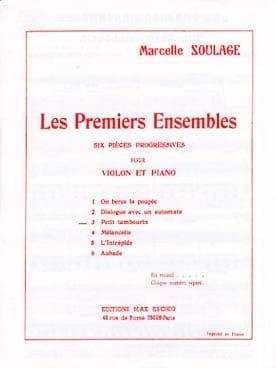 Marcelle Soulage - Petit tambourin - Partition - di-arezzo.fr