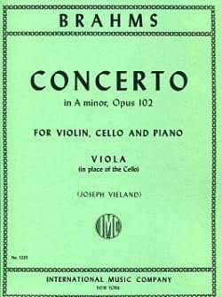 Concerto in A minor op. 102 - part. Viola - BRAHMS - laflutedepan.com