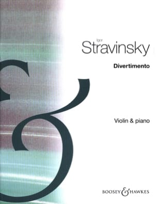 Igor Stravinsky - Divertimento - Violin - Sheet Music - di-arezzo.co.uk