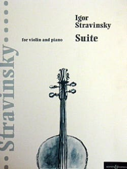 Igor Stravinsky - Suite (extr. Pulcinella) – Violin piano - Partition - di-arezzo.fr
