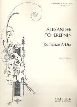Romance en la majeur - Alexandre Tcherepnine - laflutedepan.com