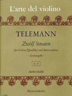 12 Sonaten - Heft 2 (4-6) - Georg Philipp Telemann - laflutedepan.com