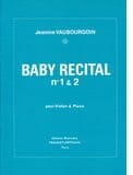 Jeanine Vaubourgoin - Baby Recital n° 1 & 2 - Partition - di-arezzo.fr