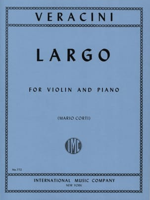 Largo - Violin Francesco Maria Veracini Partition laflutedepan