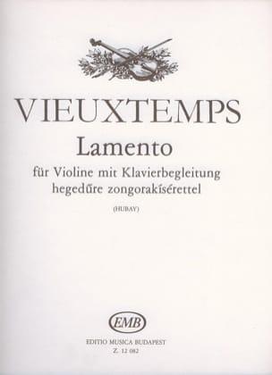 Henri Vieuxtemps - Lamento - Sheet Music - di-arezzo.co.uk
