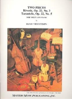 Henri Vieuxtemps - 2 Pieces - Partition - di-arezzo.fr