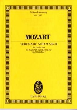 Wolfgang Amadeus Mozart - Serenade Nr. 4 - Marsch D-Dur - Partition - di-arezzo.fr