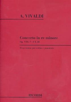 Concerto en ré min. - F. 1 n° 28 - Violon/Piano VIVALDI laflutedepan