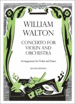 William Walton - Concerto for violin - Sheet Music - di-arezzo.co.uk