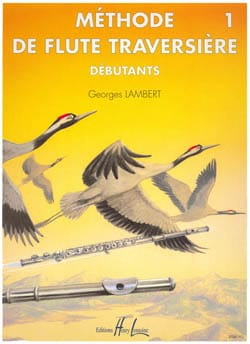 Georges Lambert - Flute Method Volume 1 - Sheet Music - di-arezzo.co.uk
