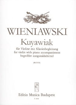 WIENIAWSKI - Kuyawiak op. 2 - Sheet Music - di-arezzo.co.uk