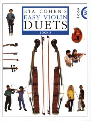Easy violin duets Volume 3 Eta Cohen Partition Violon - laflutedepan
