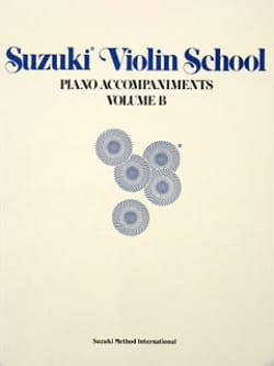 Suzuki - Violin School - Piano Acc. Volume B - Sheet Music - di-arezzo.com