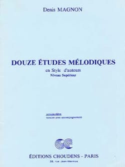 Denis Magnon - 12 Melodic studies - Superior - Student - Sheet Music - di-arezzo.co.uk
