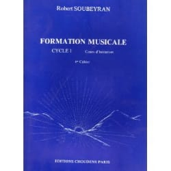 Formation musicale - 1er cycle - Volume 1 laflutedepan