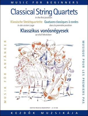 Pejtsik Arpad / Vigh Lajos - Classical quartet Music - String - Sheet Music - di-arezzo.co.uk