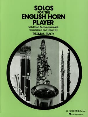Thomas Stacy - Solos for the english horn player - Partition - di-arezzo.fr