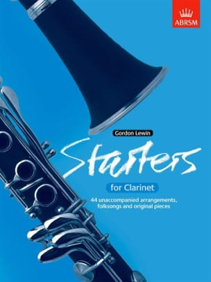 Gordon Lewin - Starters for clarinet - Sheet Music - di-arezzo.co.uk