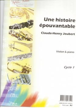 Claude-Henry Joubert - A terrible story - Sheet Music - di-arezzo.com
