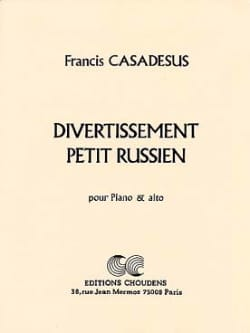 Francis Casadesus - Little Russian Entertainment - Sheet Music - di-arezzo.com