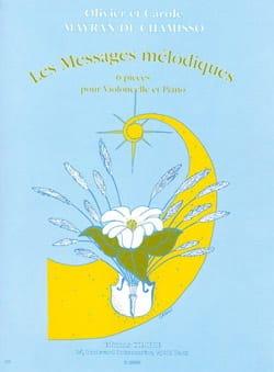 de Chamisso Olivier et Carole Mayran - Les messages mélodiques - Partition - di-arezzo.fr
