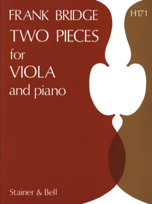 Frank Bridge - 2 Pieces for viola and piano - Sheet Music - di-arezzo.co.uk