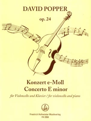 David Popper - Konzert e-moll op. 24 - Sheet Music - di-arezzo.co.uk