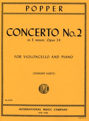 David Popper - Concerto No. 2 in E minor op. 24 - Sheet Music - di-arezzo.com