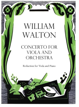 William Walton - Concerto for viola and orchestra - Sheet Music - di-arezzo.co.uk
