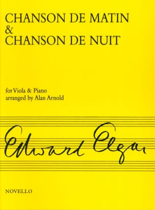 ELGAR - Morning song - Night song - Sheet Music - di-arezzo.com