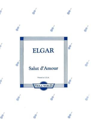 Salut d'amour - Alto ELGAR Partition Alto - laflutedepan