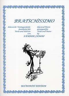 Bratschissimo - Sandor Janosi - Partition - Alto - laflutedepan.com