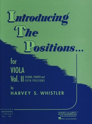 Harvey S. Whistler - Introducing The Positions - Viola - Vol.2 - Partition - di-arezzo.fr