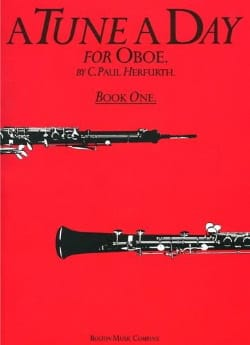 Paul C. Herfurth - To Tune A Day Volume 1 - Oboe - Sheet Music - di-arezzo.co.uk